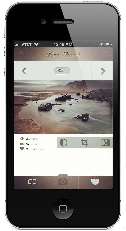 4s苹果手机应用界面设计