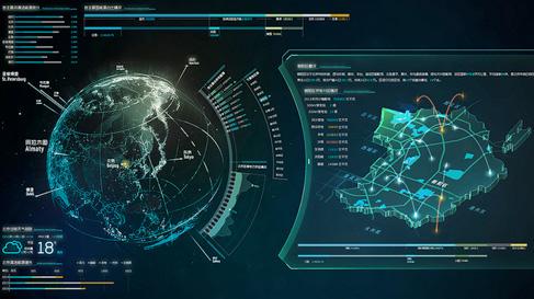 策划案例分析_大屏ui设计系列之五——大屏设计语言分析 大屏数据可视化设计 ...