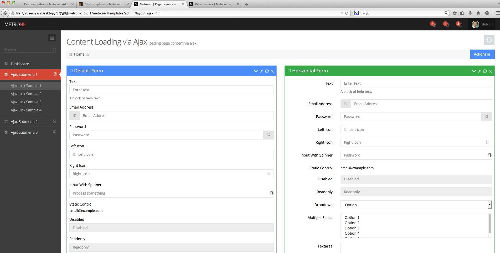 后台管理软件界面设计欣赏